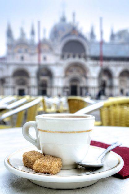 B4012D - Blaustein, Alan - Caffe Piazza San Marco #2