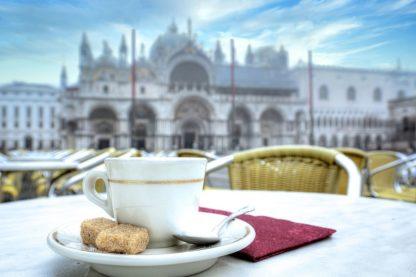 B4013D - Blaustein, Alan - Caffe Piazza San Marco #1
