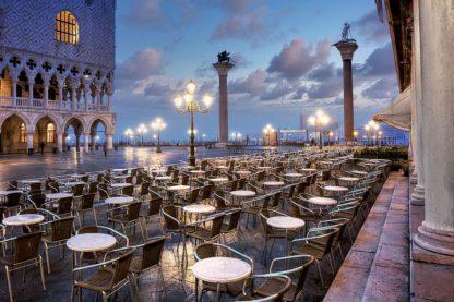 B4019D - Blaustein, Alan - Piazza San Marco Sunrise #21