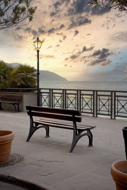 B4057D - Blaustein, Alan - Monterosso Sunrise #1