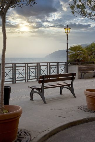 B4058D - Blaustein, Alan - Monterosso Sunrise #2