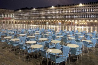 B4061D - Blaustein, Alan - Piazza San Marco At Night