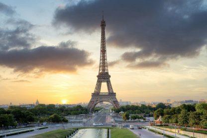 B4064D - Blaustein, Alan - Eiffel Tower Sunset
