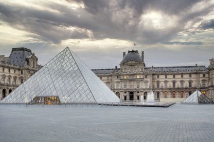 B4071D - Blaustein, Alan - The Louvre Palace Museum II