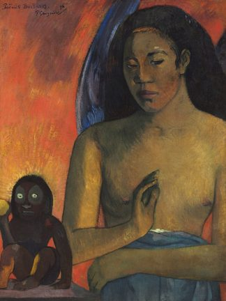 G2132D - Gauguin, Paul - Barbarian Poems, 1896