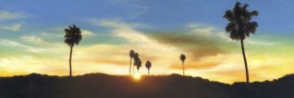 M1735D - Monzon, Rick - Hollywood Hills Sunset