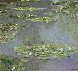 M1738D - Monet, Claude - Nymphe as, 1905