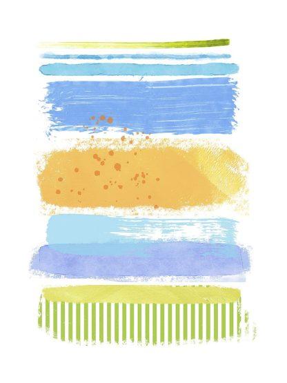 N436D - Nicoll, Suzanne - Beach Stripes No. 1