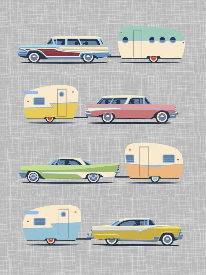 T737D - Theodore, James - Vintage Cars and Campers No. 2