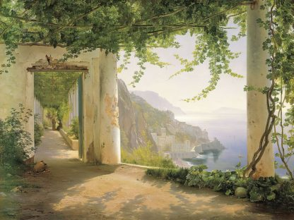 A179D - Aagaard, Carl Frederic - View to the Amalfi Coast