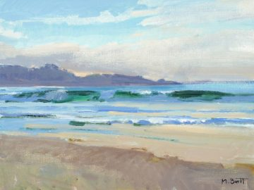 B4081D - Burtt, Marcia - Carmel Beach