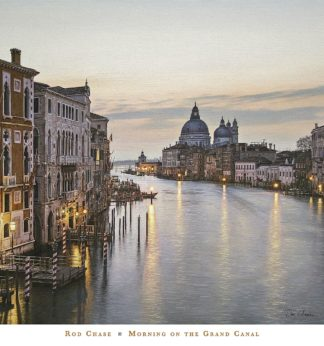 C1340 - Chase, Rod - Morning on the Grand Canal