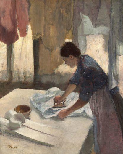 D2065D - Degas, Edgar - Woman Ironing, c. 1876-1877