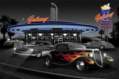F828D - Flint, Helen - Galaxy Diner (B&W + Color)
