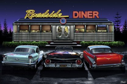 F830D - Flint, Helen - Roadside Diner