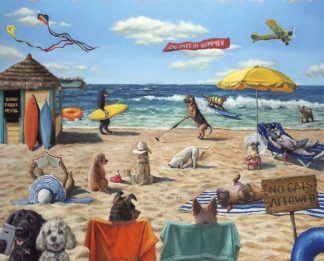 H1519 - Heffernan, Lucia - Dog Beach