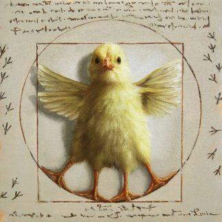 H1755D - Heffernan, Lucia - Vitruvian Chick