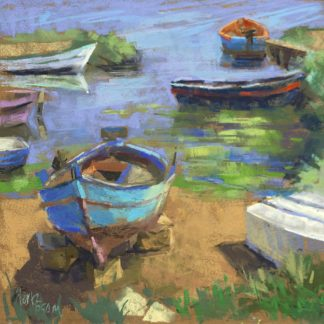 M1749D - Mertz, Nancie King - Fishing Boats in Marsala