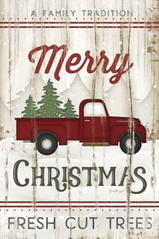 SBJP7267 - Pugh, Jennifer - Merry Christmas Truck