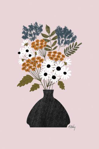 A715D - Annie Bailey Art - Summer Wildflowers