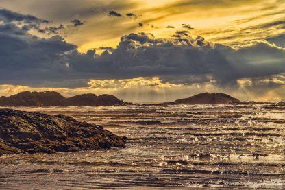 B4133D - Burdick, Chuck - Golden Sunset