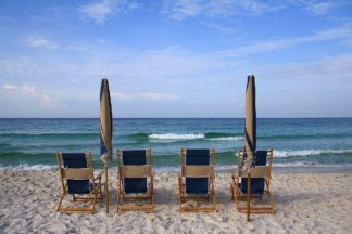 C1353D - Cannon, George - Beach Chairs