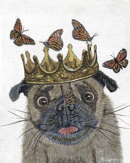 S1914D - Symons, Melissa - A Crowned Pug