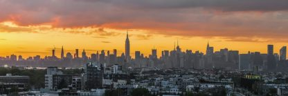 S1919D - Silver, Richard - Manhattan Skyline from Brooklyn