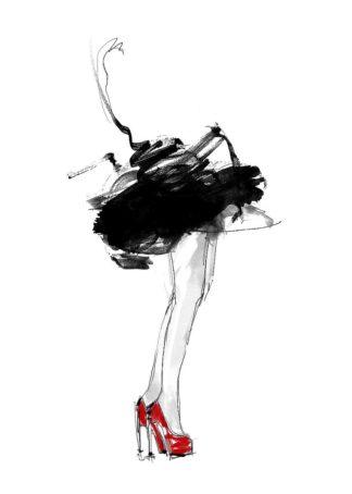 L958D - Larsdotter, Lotta - Red Shoes