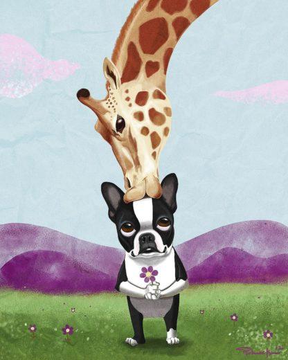 R1404D - Rubenacker, Brian - Giraffe Kisses