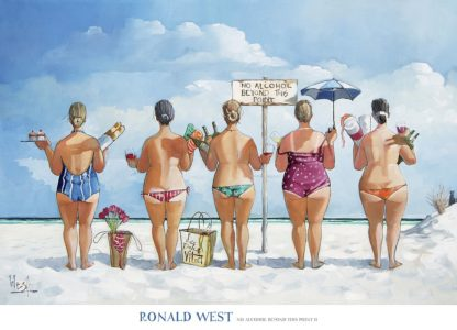W1063 - West, Ronald - No Alcohol Beyond this Point II (Reproduced with permission by Bentley Licensing ©)