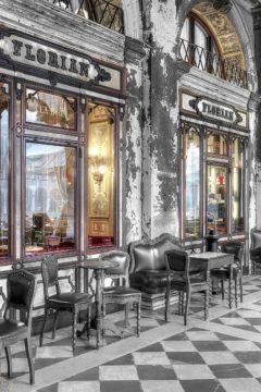 B4144D - Blaustein, Alan - Caffe Florian, Venezia