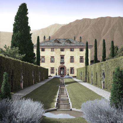B4145D - Blaustein, Alan - Villa Balbiano No. 3