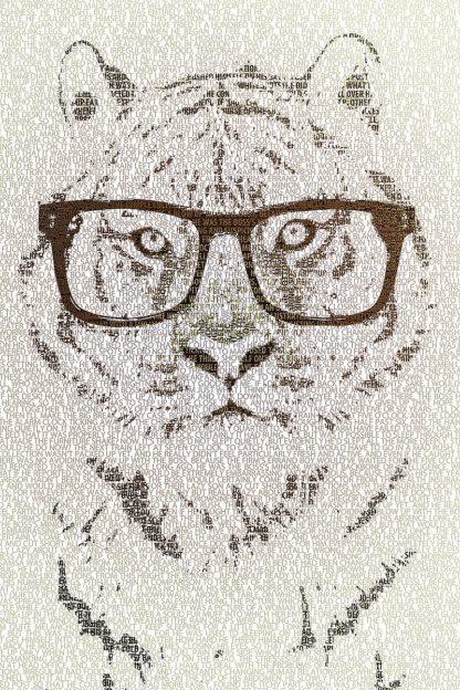 F840D - Flores, Paula Belle - Hipster Tiger
