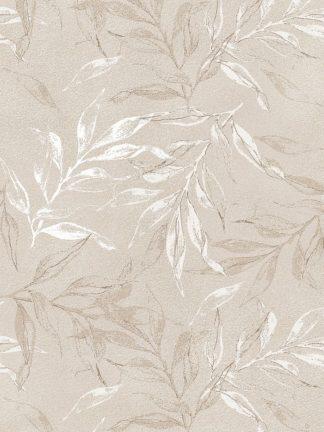 MF969-2044 - Design Fabrikken - White Leaves 1