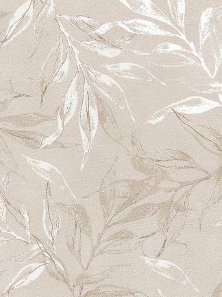 MF969-2045 - Design Fabrikken - White Leaves 2