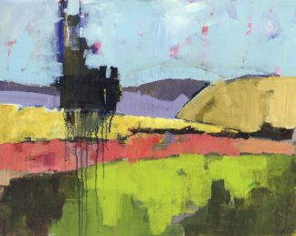 N528D - Nickell, Linda - Untitled Landscape