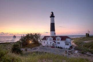 R1426D - Romanowicz, Adam - Big Sable Point Lighthouse At Sunset