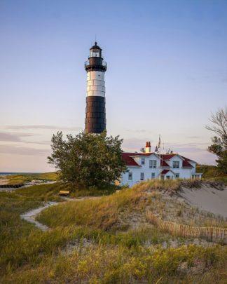 R1428D - Romanowicz, Adam - Historic Big Sable Point Light