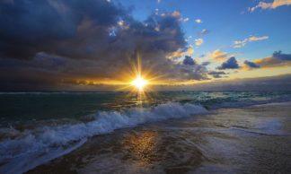 D2088D - Davis, Lizzy - Sunrise Over Miami Beach