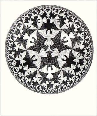 E235 - Escher, M. C. - Circle Limit IV