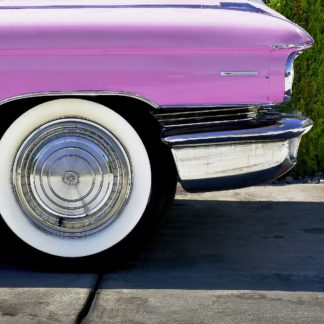 V785D - Vargas, Carlos - Pink Cadillac Tire