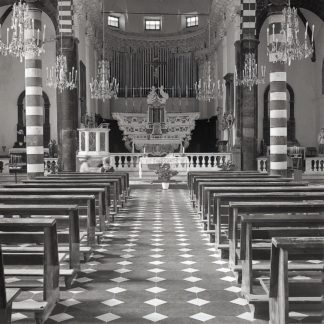 Liguria Church Interior #1