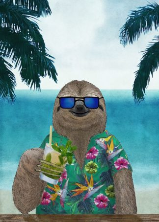 Sloth on Summer Holidays