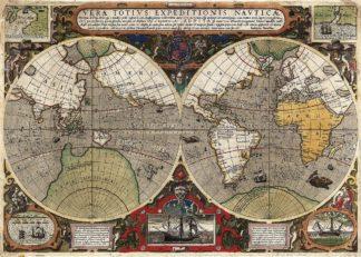 H1115D - Hondius, Jodocus - Vera Totius Expeditionis Nauticae