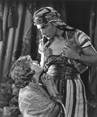 Rudolph Valentino 'The Son of the Sheik' with Vilma Banky