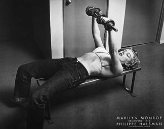 Marilyn Monroe with Weights
