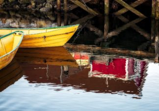 Dories and Reflection