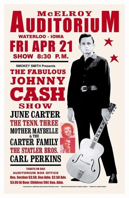 Johnny Cash, 1967 (Waterloo)