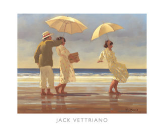 V470C - Vettriano, Jack - The Picnic Party II (mirrored edge)